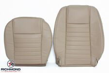 2005-2009 Ford Mustang V8 Coupe GT -Driver Side Complete Leather Seat Covers Tan