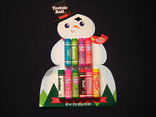 Lotta Luv Snowman Carded - Set of 10 Flavored Lip Balms - .12oz each #V6