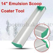 1PC Aluminum 14'' (35CM) Emulsion Scoop Coater Silk Screen Printing Press Tool