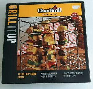 Char-Broil Big Easy Kabob Holder Grill Accessory Skewers New