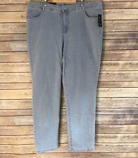 Style & Co Womens 18W Jeans Slim Leg High Rise Tummy Control Sedona Wash B6
