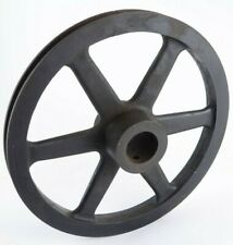 "Antique Cast Iron 9 1/2"" Belt Pulley Wheel Steam Machine Farming Industrial"