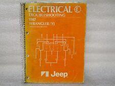 1987 ELECTRIC TROUBLESHOOTING JEEP WRANGLER/YJ  8980 010 32