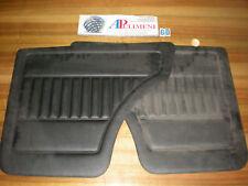 706 COPPIA PANNELLI PORTA (DOOR PANELS) POSTERIORE NERO FIAT 127