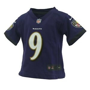 Baltimore Ravens Baby Infant Toddler Kids Size Justin Tucker NFL Jersey New Tag