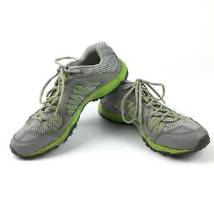 Patagonia Womens Lemon Grass Athletic Lace Up Hiking Shoes Gray Green Size 7.5