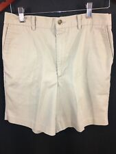 David Taylor Men's Size 30 Khaki Chino Golf Bermuda Shorts