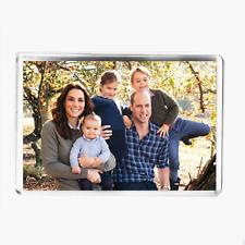 PRINCE WILLIAM, PRINCESS KATE & KIDS - LARGE FRIDGE MAGNET - ROYAL COMMEMORATIVE