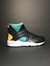 0a035ecba9f80 Nike Air Huarache Run Mid Women s Shoes. Sz 9.5 Clear Jade Black 807313-