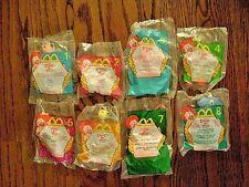 1999--DOUG'S 1ST MOVIE (Complete SET of 8 Toys) by McDonald's [NIP]