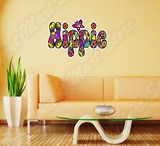 "Hippie Peace Love Woodstock Life Wall Sticker Room Interior Decor 25""X18"""