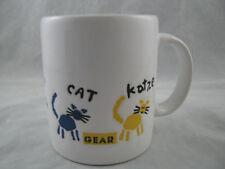 New Waechtersbach Worldy Cat Coffee Mug 12oz