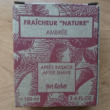 Yves Rocher Fraicheur ''Nature'' Ambree After Shave 100ml