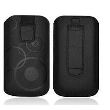 iPHONE 5S Hülle Tasche Case Cover Etui SCHWARZ
