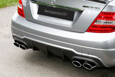 Original Mercedes C63 AMG W204 Diffusor  Coupe / Limousine  FACELIFT, MOPF