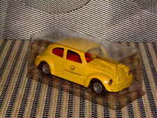 KELLERMANN AKA: CKO 1:43 SCALE, TIN W/FRICTION VW BEETLE BUNDESPOST COUPE, NOS!