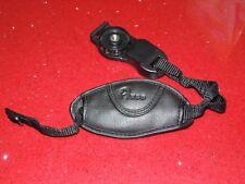 Impugnatura maniglia cinturino in ecopelle per fotocamera, reflex o telecamera