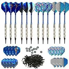 Bullout Professional Soft Tip Darts Set,12 Pcs 18g Plastic Tipped Dart,