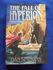 THE FALL OF HYPERION - FIRST EDITION SIGNED BY DAN SIMMONS WITH ERRATA PAGE