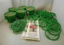 Perfect Bouquet Cage & Tying Systems Floral Designers Tool Green Lot of 36