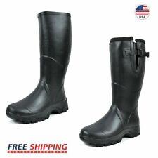 Mens Insulated 100% Waterproof Rain Boots