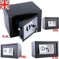 High Security Safe Large Extra Large Medium Digital Key Lock Home Box 6.4-20 L