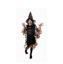 Pour 4 - 6 ans enfants sorcières Costume Robe Fantaisie Halloween Costume