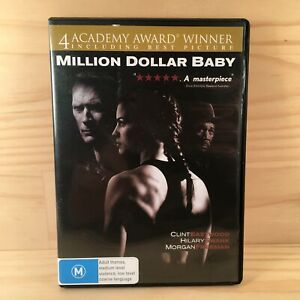 MILLION DOLLAR BABY Fighting Action Adventure DVD Movie (R4) Clint Eastwood