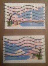 2012 Washington DC used Forever postage stamp set