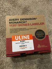 Avery Dennison Monarch 1130 Series Pricing Label Sticker Gun - New In Box