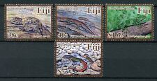 Fiji 2018 MNH Endemic Herptofauna 4v Set Skinks Geckos Iguana Lizards Stamps