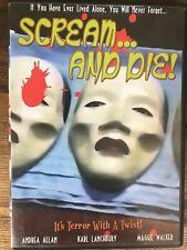 SCREAM...AND DIE! - Jose Ramon Larraz - Region 0 DVD