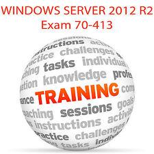 Windows Server 2012 R2 70-413 - video tutorial de formación examen DVD