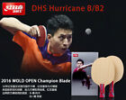 Original NEW DHS HURRICANE BO B Pure Wood Table Tennis Blade/ ping pong Blade