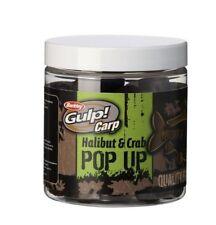 BERKLEY GULP CARP HALIBUT & CRAB 12mm POP-UP BOILIE