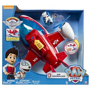 Paw Patrol  - Air Patroller Plane + Robo Dog ~~ lights & sounds - AUSSIE STOCK