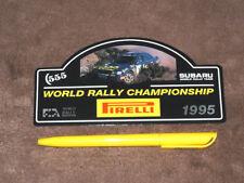 (1995) SUBARU Impreza WRC - Subaru/Pirelli WRC Aufkleber/sticker