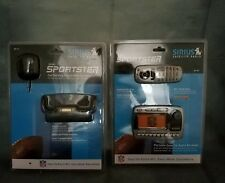 NEW Sirius Sportster SP-R1 NFL Model Receiver and sportster car docking station
