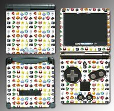 Mario Kart 7 8 Special Weapons Items Shell Video Game Skin Cover Nintendo GBA SP