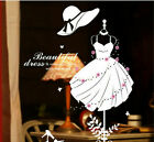 Removable Decoration Clothes Rack Wall Sticker Art Wall Window Decal Home Diy Eh