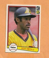 OZZIE SMITH  DONRUSS 1982  CARD # 94