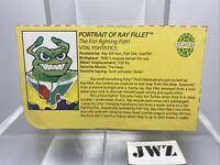 RAY FILLET - File Card - TMNT - Teenage Mutant Ninja Turtles - 🔥🔥🔥