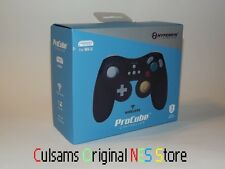 BLACK WIRELESS PROCUBE GAMECUBE STYLE CONTROLLER FOR NINTENDO Wii U & GUARANTEE