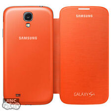 Genuine Original Samsung GT-i9505/SPH-L720 Galaxy S4/S 4 4G LTE Flip Cover Case