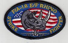VFA-122 FLYING EAGLES F/A-18 E/F RHINO OVAL SHOULDER PATCH