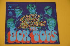 """7"""" 45 (NO LP ) SOLO COPERTINA BOX TOPS NEON RAINBOW ORIG '60 EX"""