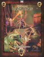 The Temple of Kubla Khan: d20 D&D Rpg Adventure Module - New