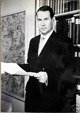 1963 GERHARD SCHRODER Ministro esteri GERMANIA - foto