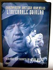 DVD L'INFERNALE QUINLAN di Orson Welles Usato