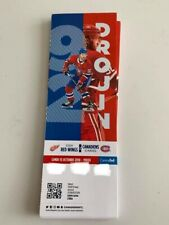 unused season hockey tickets Canadiens featuring Jonathan Drouin oct15 2018/2019